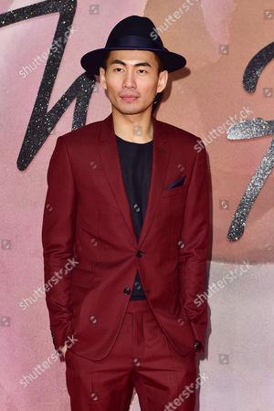 London 5th December Han Chong at the Fashion Awards 2016 at the Royal Albert Hall London On the 5th December 2016