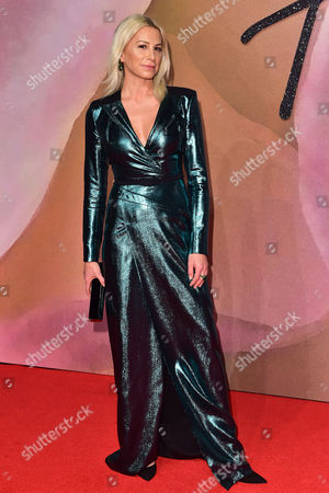London 5th December Jennifer Fisher at the Fashion Awards 2016 at the Royal Albert Hall London On the 5th December 2016