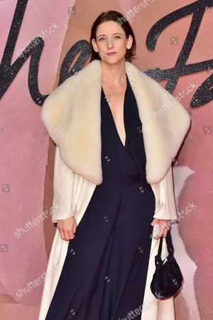 Stock Image of London 5th December Maria Grachvogel at the Fashion Awards 2016 at the Royal Albert Hall London On the 5th December 2016