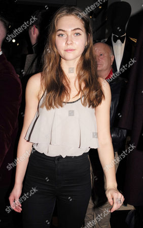 Stock Image of Hannah Murrell Attending the Opening Party of the Joshua Kane Flagship Store in London Uk 21st December 2016