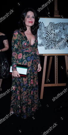 London Uk 23rd November 2016: Daniella Helayel at the Animal Ball Presented by the Elephant Family at Victoria House Bloomsbury