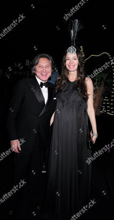 London Uk 23rd November 2016: Leon Max and Yana Max at the Animal Ball Presented by the Elephant Family at Victoria House Bloomsbury