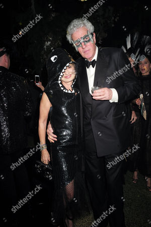 London Uk 23rd November 2016: Maya Von Schoenburg and Henry Wyndham at the Animal Ball Presented by the Elephant Family at Victoria House Bloomsbury