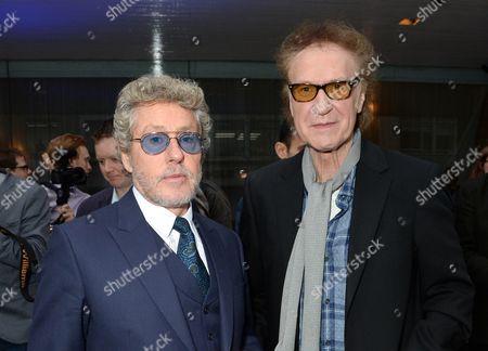 Roger Daltrey and Sir Ray Davies