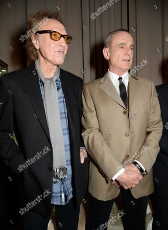 Sir Ray Davies and Francis Rossi