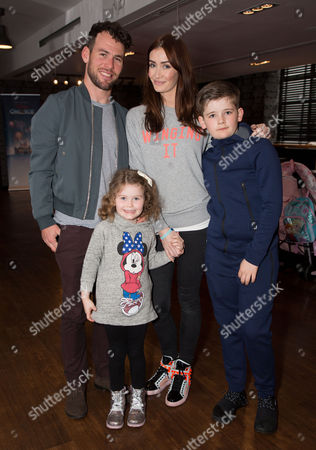 Mark Cavendish, Peta Cavendish with their children Delilah and Frey