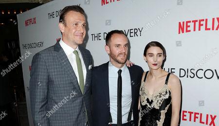 Jason Segel, Charlie McDowell and Rooney Mara