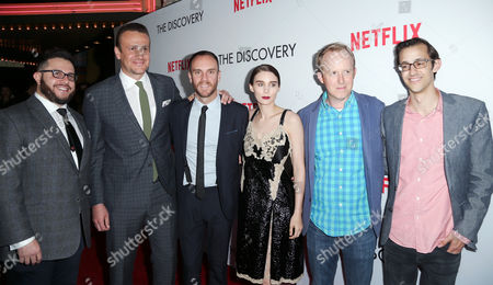 Justin Lader, Jason Segel, Charlie McDowell, Rooney Mara and Ian Bricke