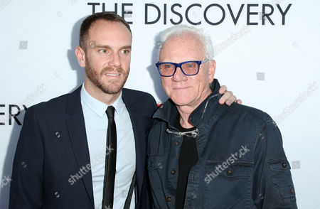 Charlie McDowell and Malcolm McDowell