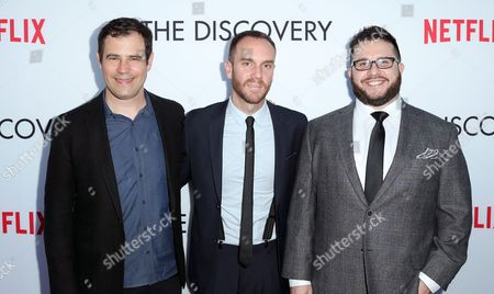 Editorial image of 'The Discovery' film premiere, Arrivals, Los Angeles, USA - 29 Mar 2017