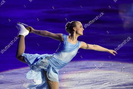 Stock Photo of Former Finnish figure skater Kiira Korpi