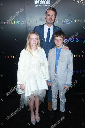 Rupert Sanders and kids