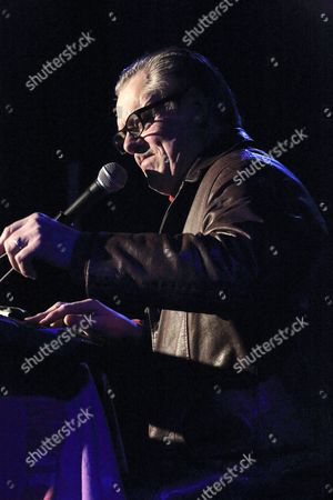 Editorial image of John Shuttleworth in concert at Leicester Square Theatre, London, UK - 22 Feb 2017