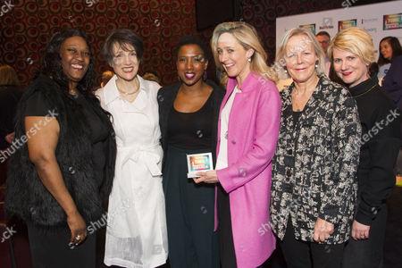 Jennifer Joseph, Harriet Walter, Jade Anouka, Kate Pakenham, Phyllida Lloyd and Jackie Clune