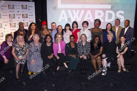 Editorial image of 'Tonic Awards' awards, London, UK - 29 Mar 2017