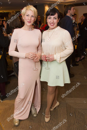 Stock Picture of Maria Aberg and Emma Brunjes