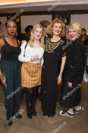 Jade Anouka, Chantelle Staynings, Jessica Swale and Jackie Clune