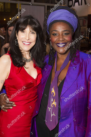Catherine Schreiber (Producer) and Sharon D. Clarke (Sonja)