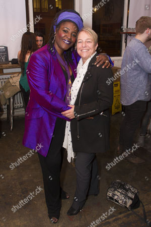 Sharon D. Clarke (Sonja) and Susie McKenna