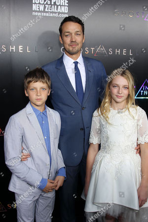 Rupert Sanders with family