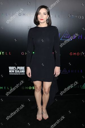 Editorial image of 'Ghost in the Shell' film premiere, Arrivals, New York, USA - 29 Mar 2017