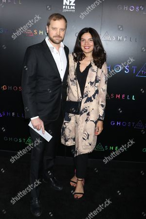 Stock Image of Zuleikha Robinson (R) and guest