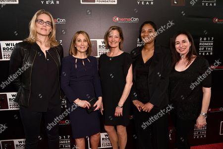 Stock Image of Emma Watts, Stacey Snider, Elizabeth Gabler, Vanessa Morrison and Pam Levine
