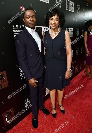 David Oyelowo and Cheryl Boone Isaacs