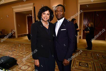 Cheryl Boone Isaacs and David Oyelowo