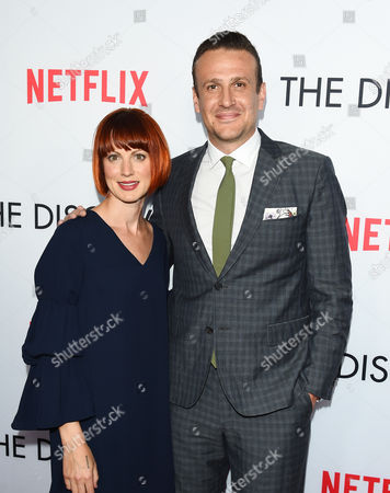 Stock Photo of Jason Segel and Alexis Mixter