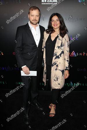 Zuleikha Robinson (R) and guest