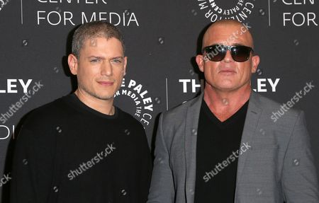 Wentworth Miller, Dominic Purcell