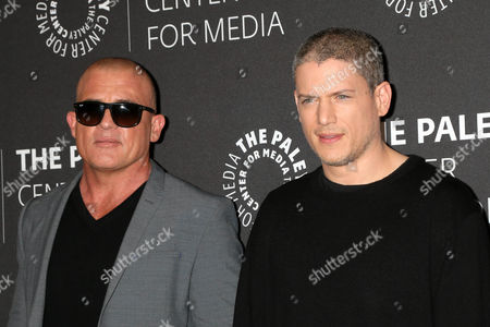 Dominic Purcell, Wentworth Miller