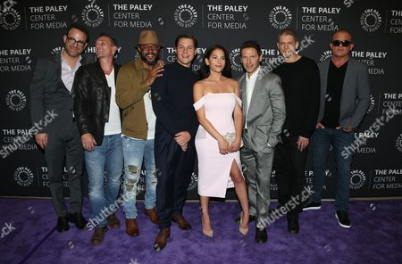 Paul Adelstein, Robert Knepper, Rockmond Dunbar, Augustus Prew, Inbar Lavi, Mark Feuerstein, Wentworth Miller, Dominic Purcell