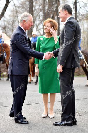 Prince Charles, Crown Princess Margareta and Prince Radu, Bucharest