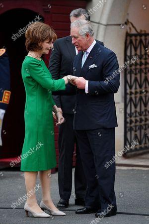 Prince Charles and Crown Princess Margareta, Bucharest