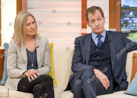 Stock Image of Fiona Millar and Alastair Campbell