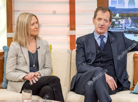 Fiona Millar and Alastair Campbell