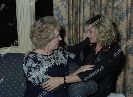 Cast attend 21st Birthday party, pictured: Sheila Mercier and Jean Rogers