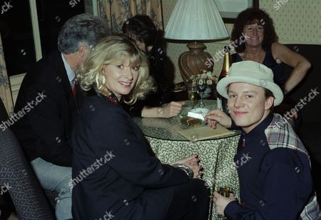 Cast attend 21st Birthday party, pictured: Jean Rogers and Cy Chadwick