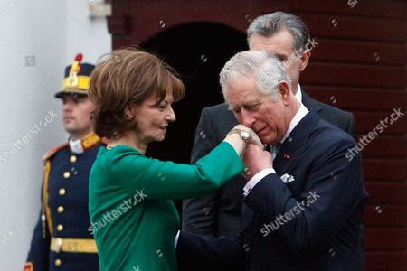 Prince Radu, Prince Charles and Princess Margareta