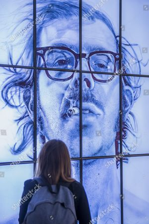 Big Self Portrait by Chuck Close - From Selfie to Self-Expression at the Saatchi Gallery