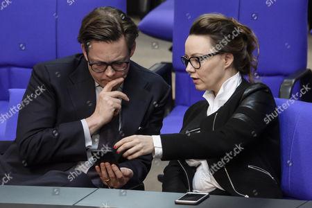 Michelle Muentefering and Konstantin von Notz