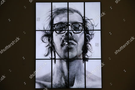 Chuck Close Big Self-Portrait 1967-1968 -