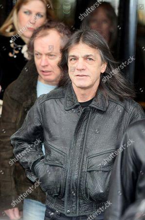 Angus Young and Phil Rudd