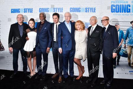 Stock Photo of Christopher Lloyd, Joey King, Morgan Freeman, Zach Braff, Sir Michael Caine, Ann-Margret, Alan Arkin, Donald Deline