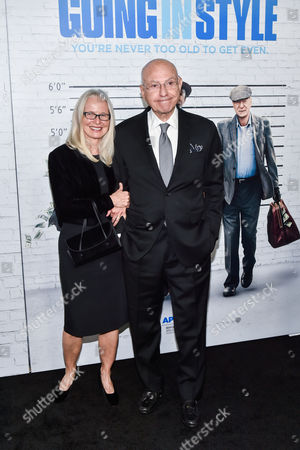 Editorial picture of 'Going in Style' film premiere, Arrivals, New York, USA - 30 Mar 2017
