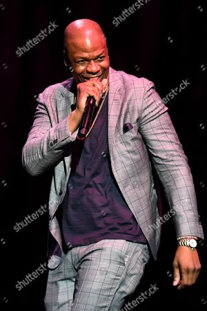 Editorial image of Ardie Fuqua stand up comedy at the Hard Rock Live, Seminole Hard Rock Hotel and Casio, Florida, USA - 29 Mar 2017