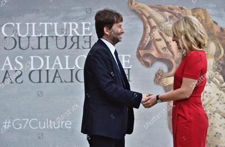 Melanie Joly and Dario Franceschini