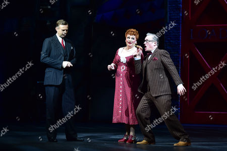 Tom Lister (Julian Marsh), Jasna Ivir (Maggie Jones) and Christopher Howell (Bert Barry)